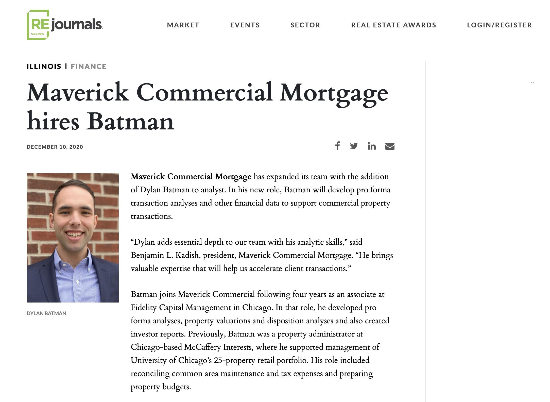 Maverick Hires Batman